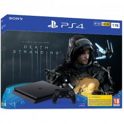PlayStation 4 1TB F chassis Black + Death Stranding