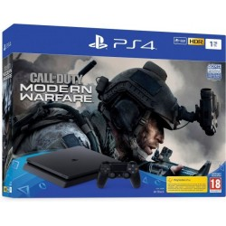 PlayStation 4 1TB F chassis Black + Call of Duty: Modern Warfare 2019