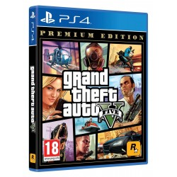 GTA V Premium Edition PS4