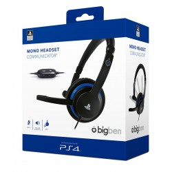 BigBen PlayStation 4 (PS4) Mono headset Communicator Black